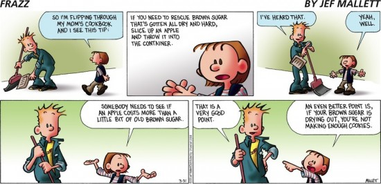Frazz for March 31, 2013