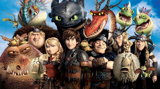 How To Train Your Dragon -- A Great Movie!